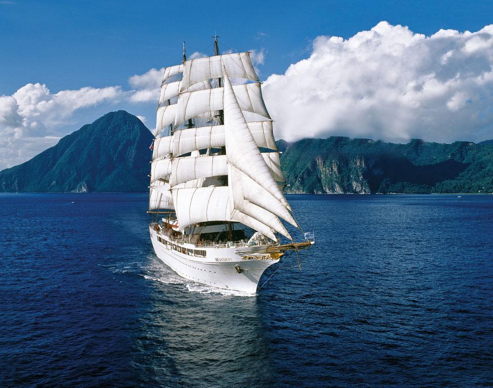 Sea Cloud II auf See