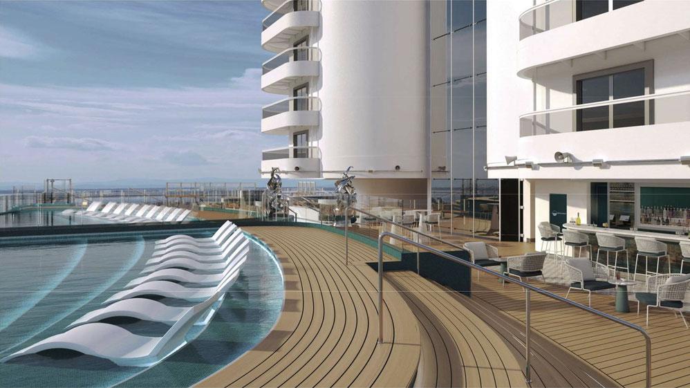 MSC Seascape Infinity Pool