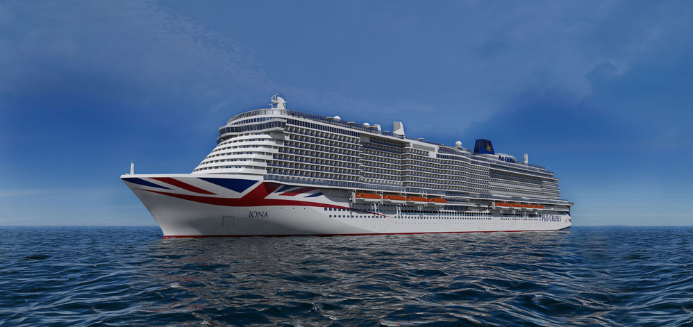 IONA P&O Cruises Rendering