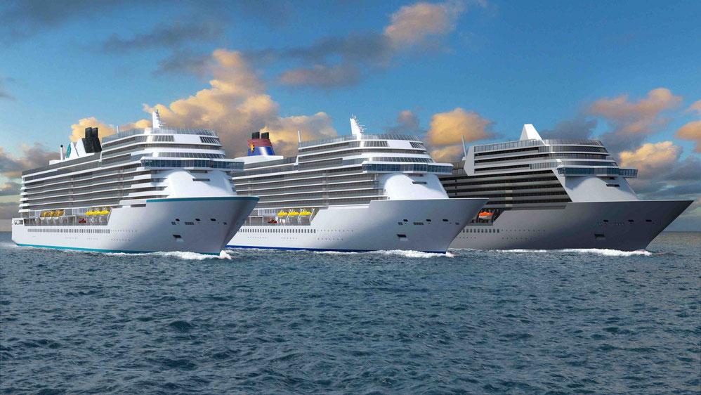 Die ,,Universal Class'' der MV Werften | © MV Werften