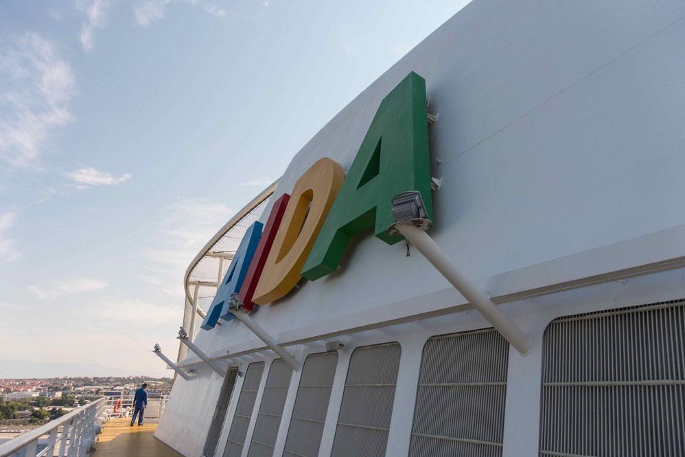 AIDA Cruises Schornstein