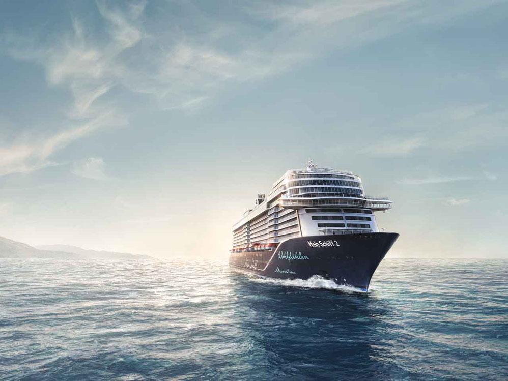 Mein Schiff 2 auf See