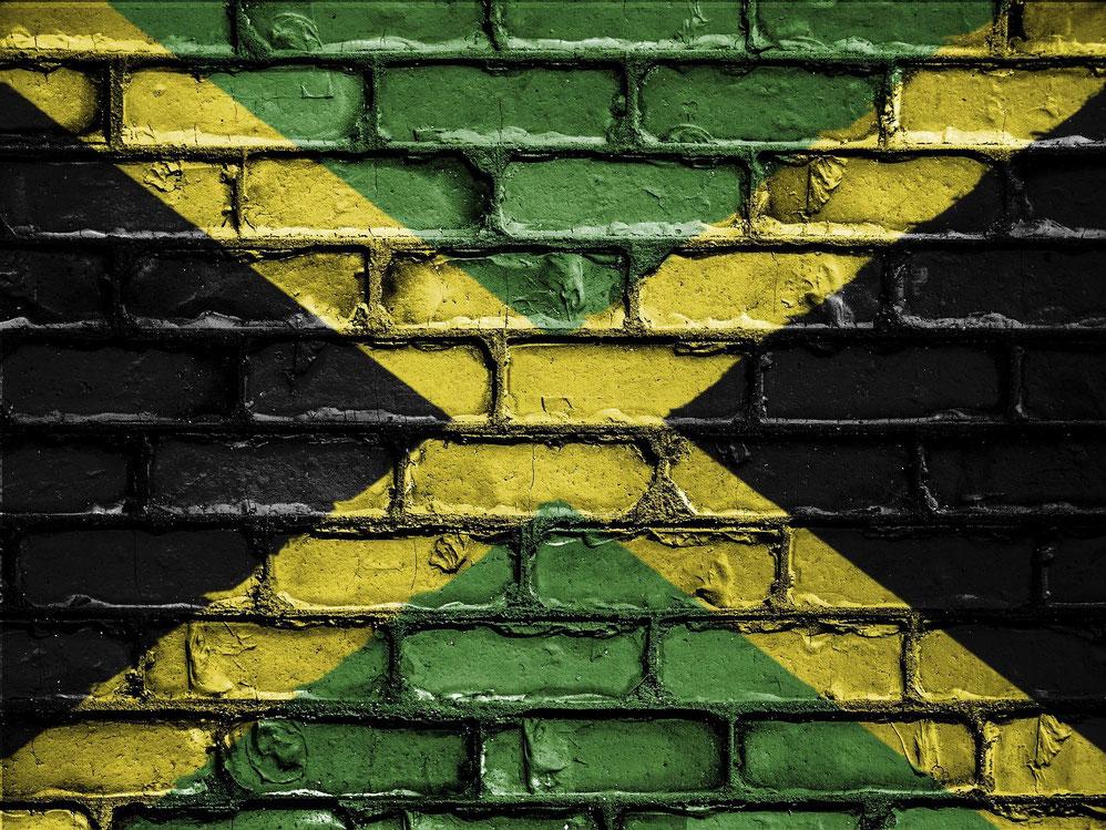 Jamaika Flagga
