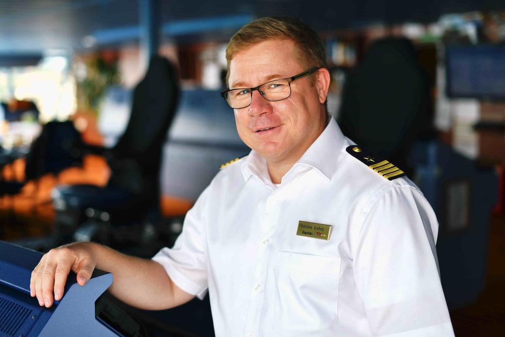 AIDAblu Kapitän Tönnies Kohrs