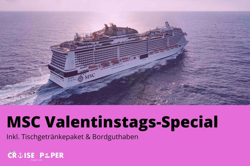 MSC Valentinstags-Special