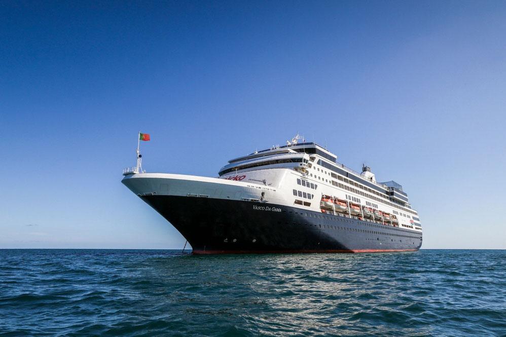 VASCO DA GAMA von nicko cruises auf See