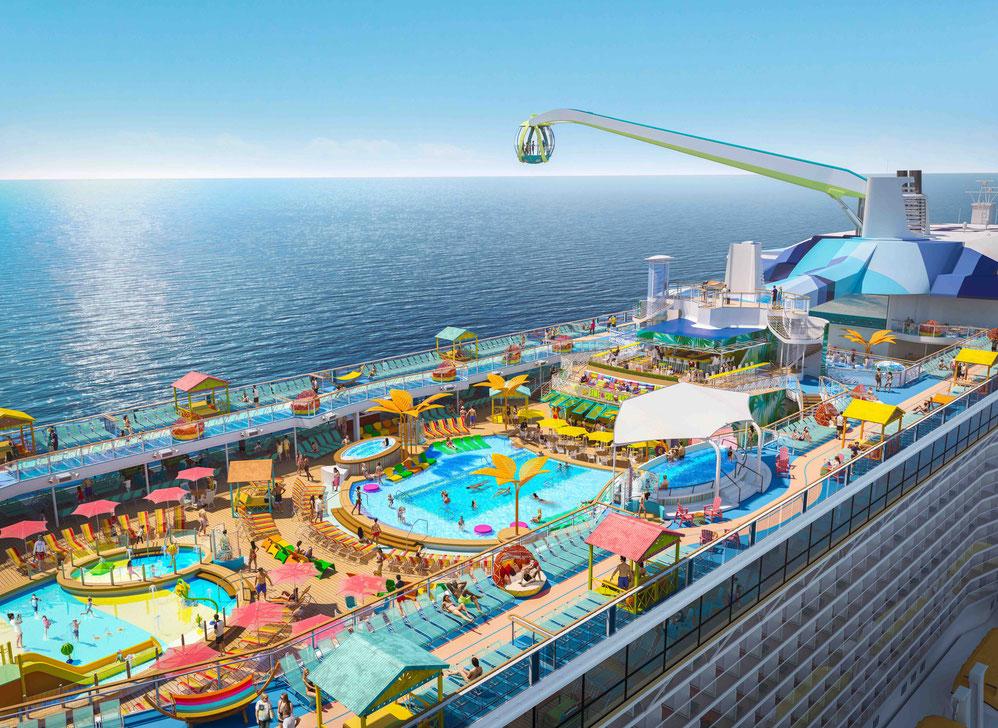 Odyssey of the Seas Pooldeck