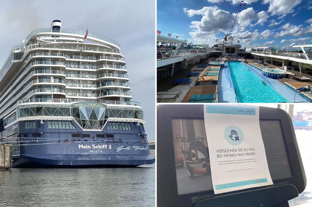 Mein Schiff 2 Blaue Reise 1