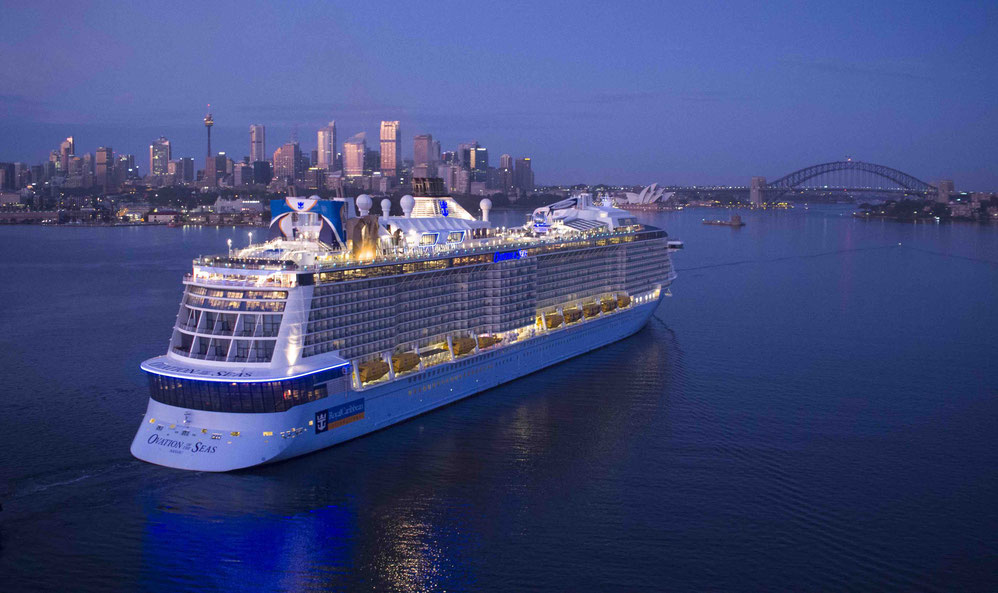 Ovation of the Seas Sydney