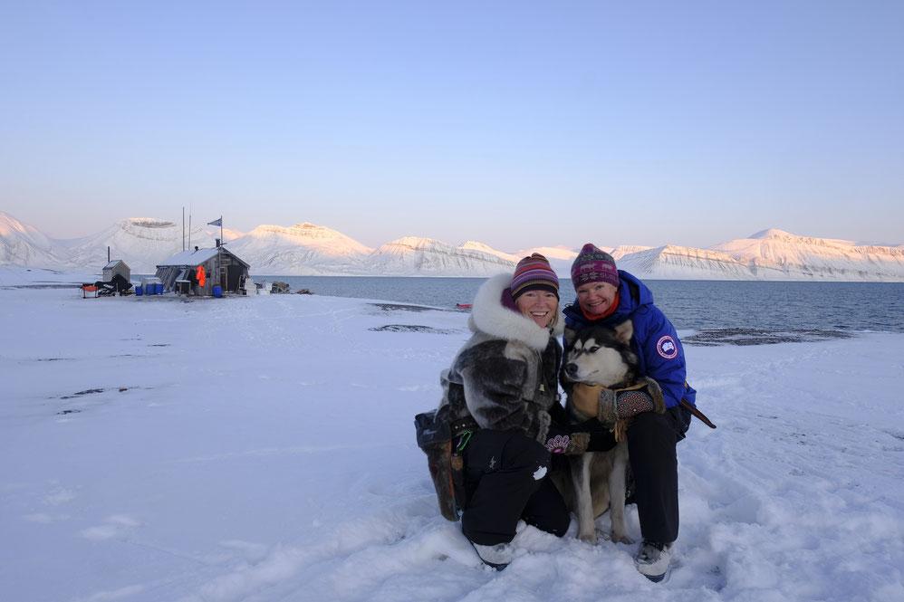 Sunniva Sørby und Hilde Fålun Hurtigruten