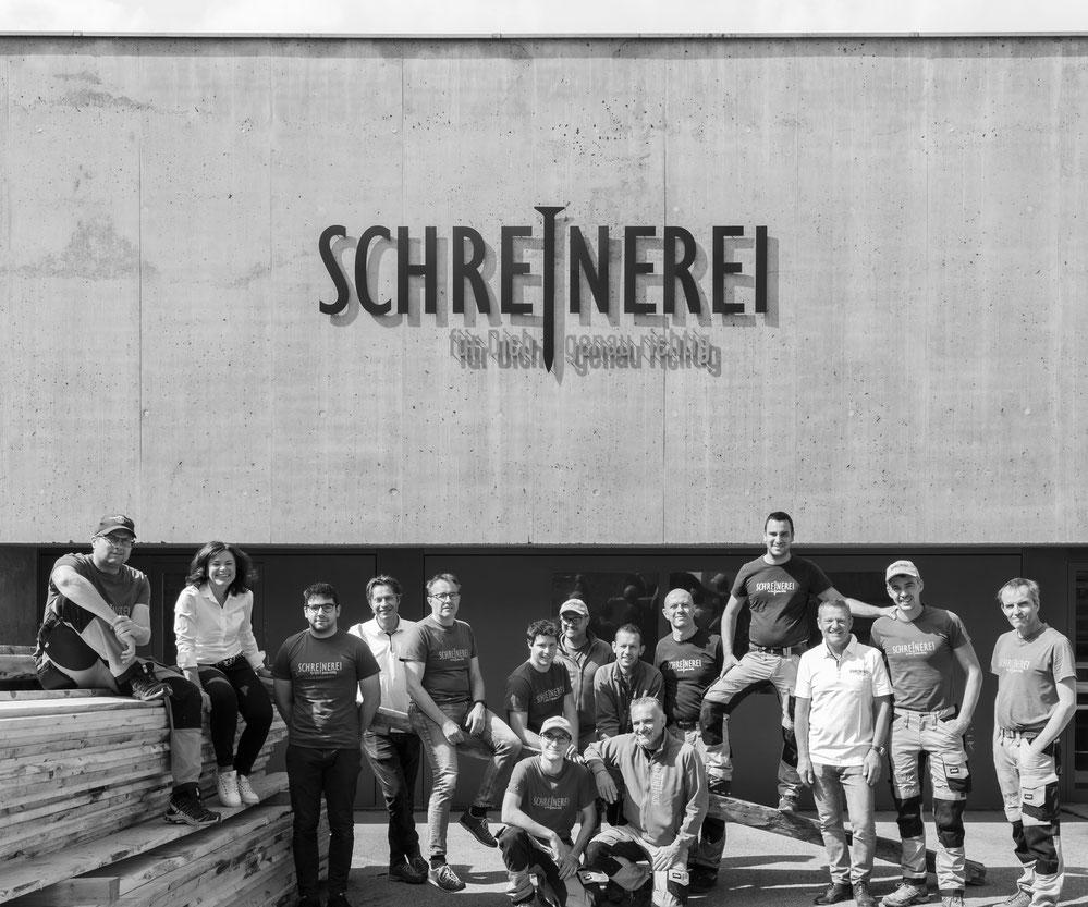 Team Schreinerei Bever AG