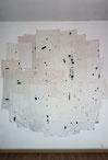 Art textile, broderie, installation, laura gourmel, france, contemporain