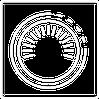 kfz wolf icon hu / au / tüv