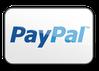 Zahlungsmoeglichkeit Paypal oder mit Kreditkarte VISA, Mastercard