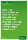 Titelbild Einfluss der Nutzungsdauer von Produkten Obsoleszenz