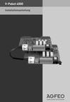 Titelbild Installationsanleitung für AGFEO AS 4000 (2 x AS 40 P)