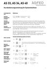 Titelbild Kurzbedienungsanleitung für Systemtelefone für AGFEO AS 40