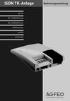 Titelbild Bedienungsanleitung für AGFEO AC 16 WebPhonie