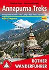 Annapurna Treks Annapurna-Runde - Base Camp - Nar Phu - Tilicho Lake. Alle Etappen mit GPS-Tracks (Rother