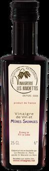 vinaigre vin et mûres sauvages