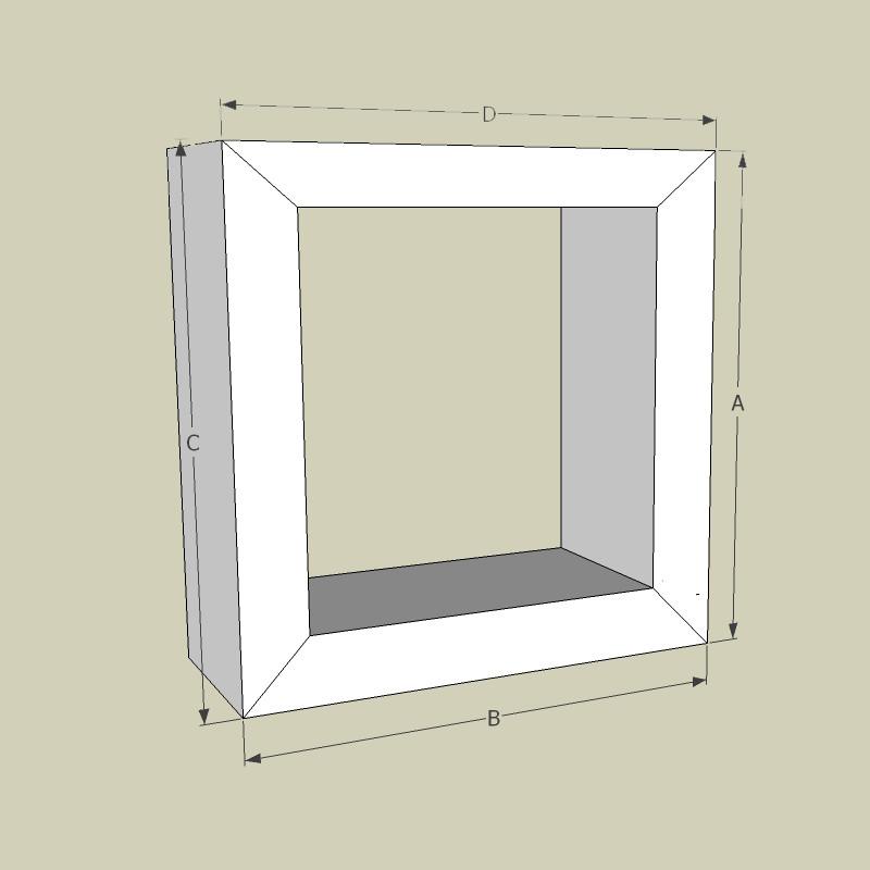 Indirekte Beleuchtung Gipskarton Elegant Abgehangte Decken: Rohr Profil / 95 Cm