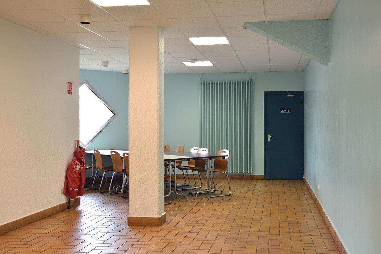 la salle verte - centre international de rencontres de saint-vulbas