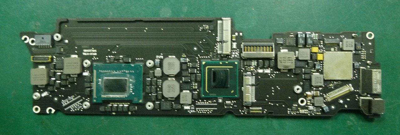 Macbook Air(11-inch, mid 2012)-CPU交換改造 - Studio Yamada
