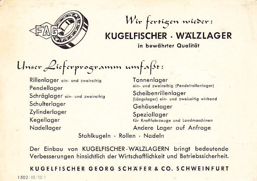 Kugelfischer - FAG - Schweinfurtführer - Ein Führer durch ...