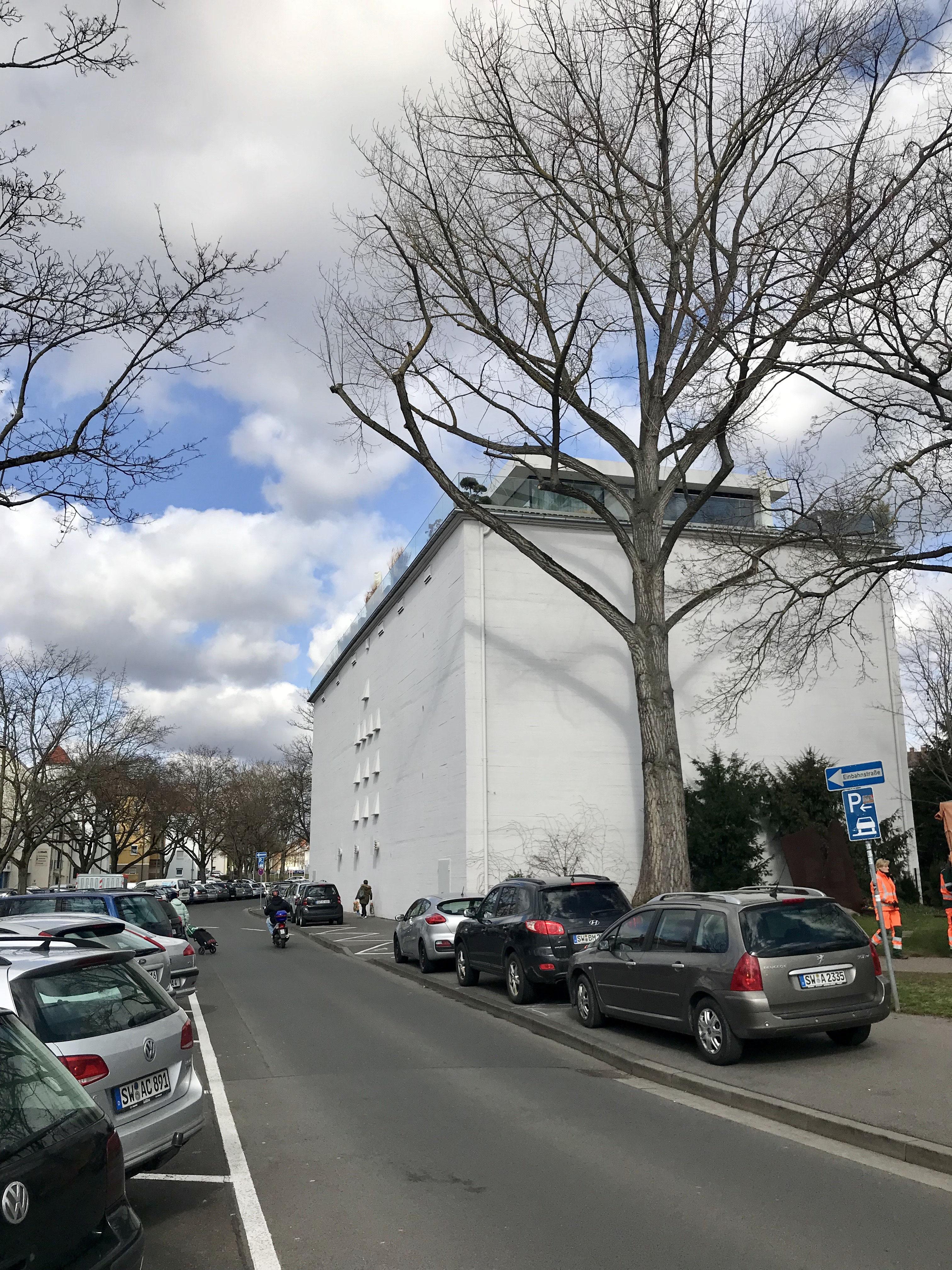 Hochbunker A13 Am Spitalseeplatz Schweinfurtführer Ein Führer