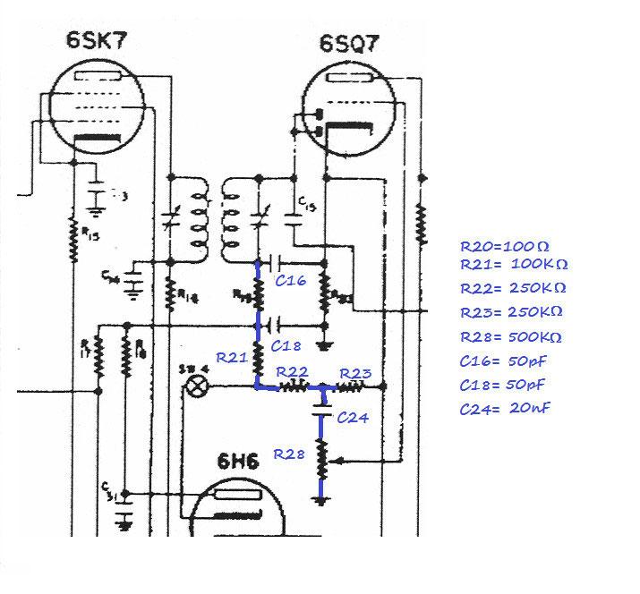 induttanze e altro Filtro media frequenza con 2 condensatori variabili 50pF