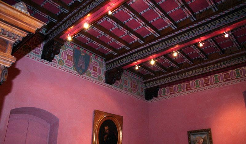 I soffitti e la decorazione ambientale giulio clementi e i