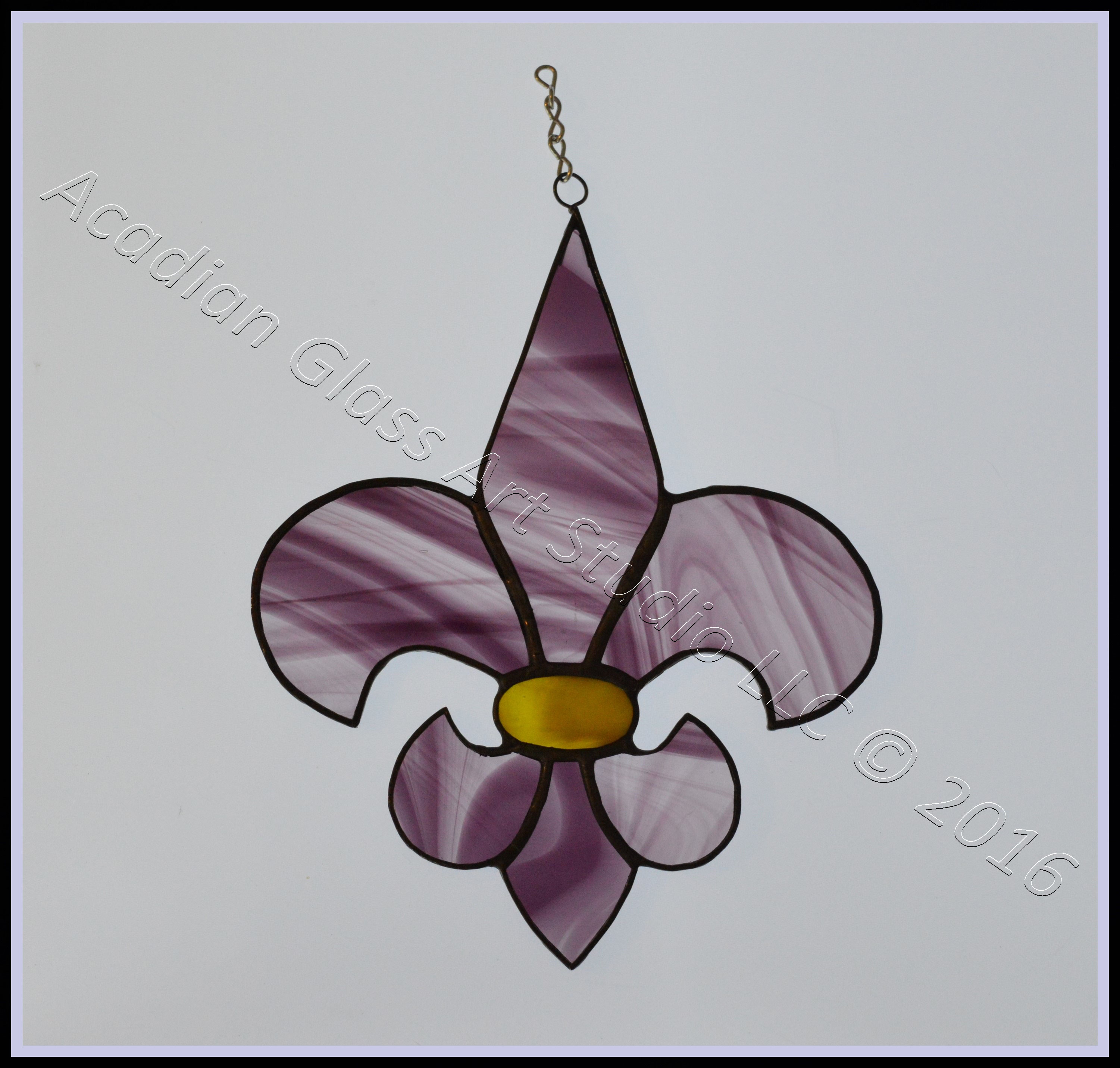 Stained Glass Suncatchers Picture Gallery - Acadian Glass Art Studio LLC