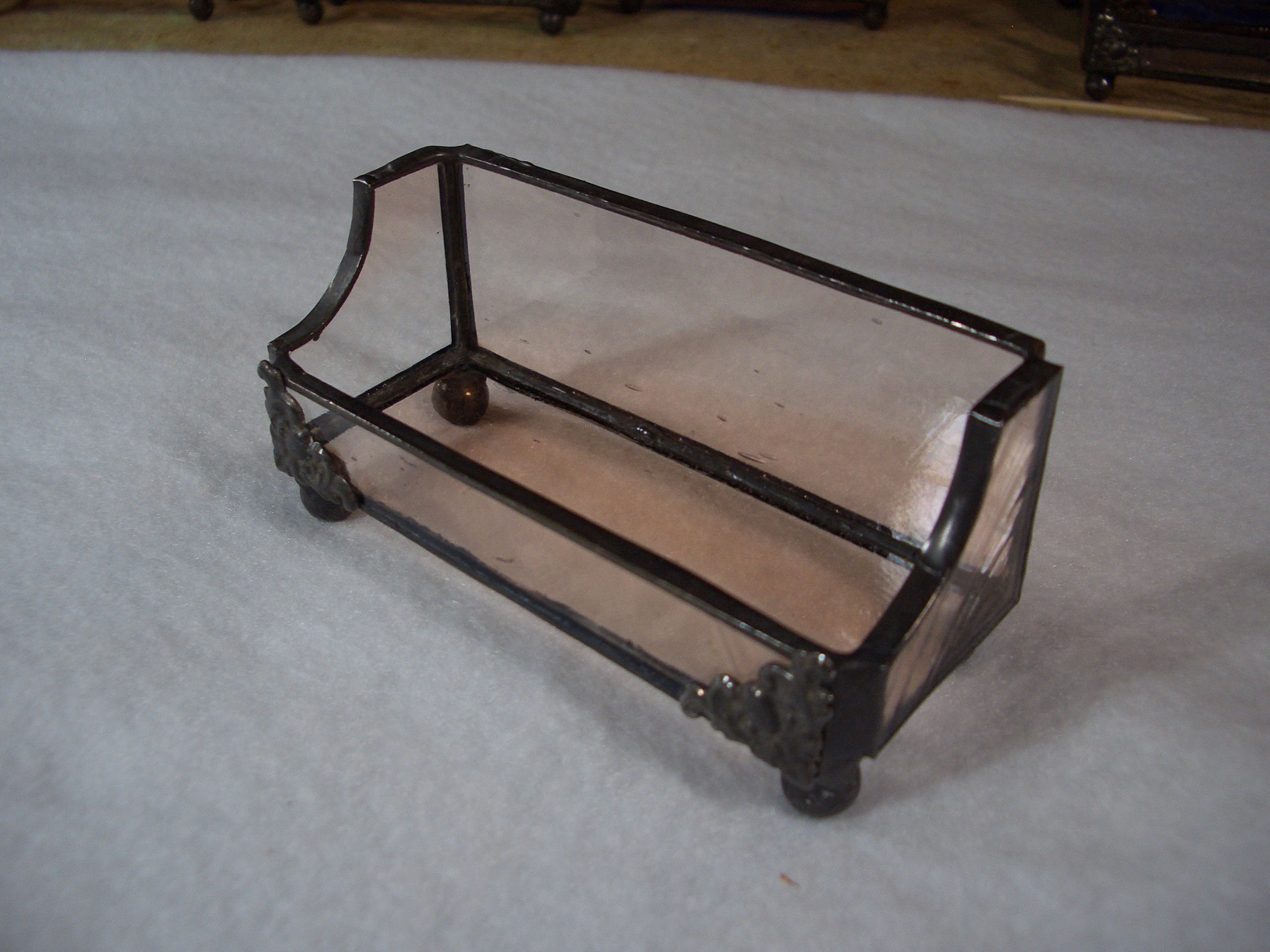 Business Card Holders Picture Gallery - Acadian Glass Art Studio LLC