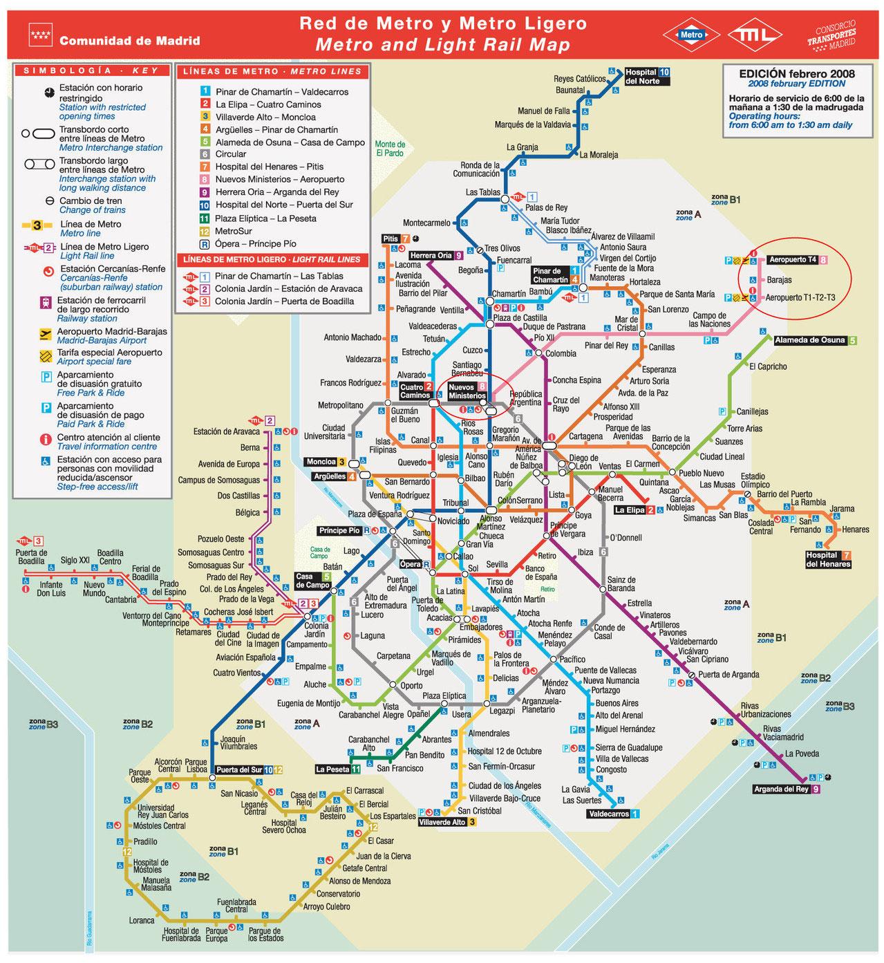Metro V Madride Stoimost Bileta Ceny Tarify Ekskursiya V