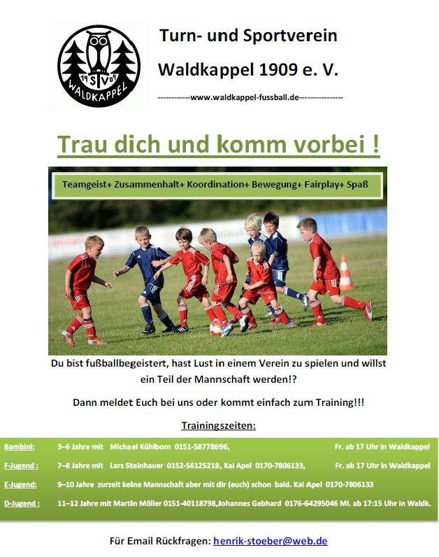 E Jugend Tsv Waldkappel Abt Fussball