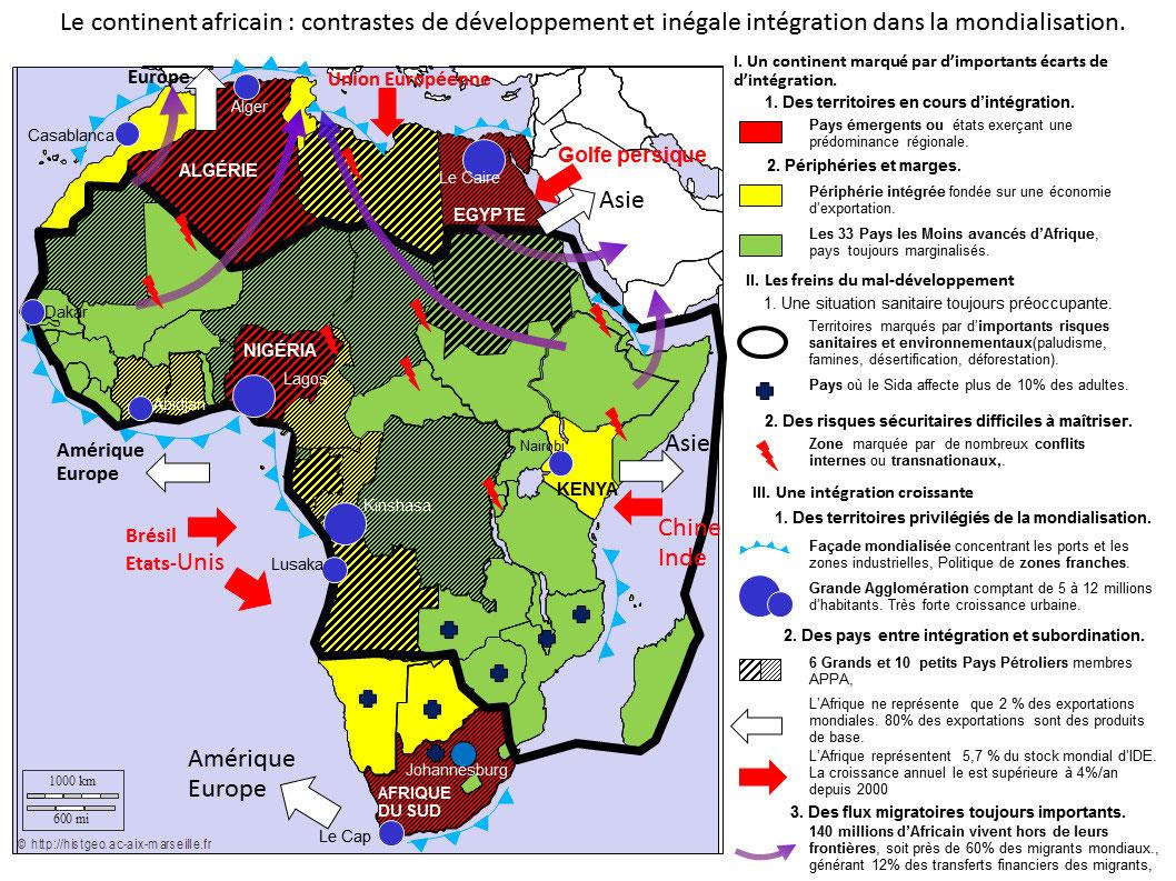 Carte Afrique Ville Bac.Giii 1 2 Les Etats Unis Bresils Histoprofs Jimdo Page