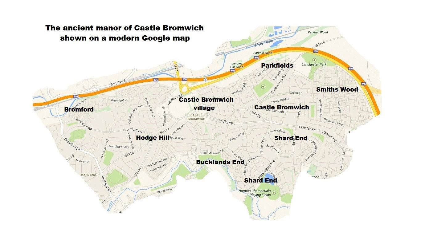 Anglo-Saxon Bromwich - Castle Bromwich History for Young People