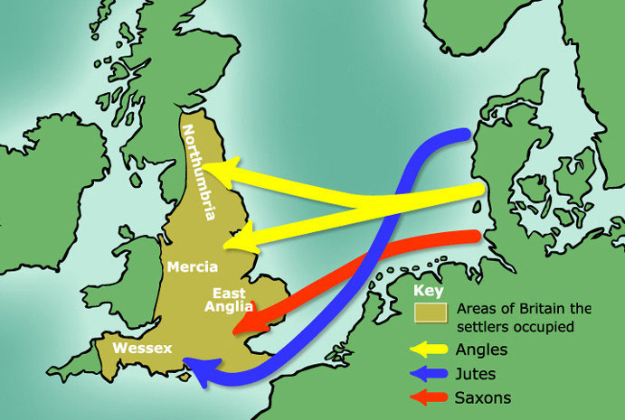 Anglo Saxon Map Of England.Anglo Saxon Bromwich Castle Bromwich History For Young People