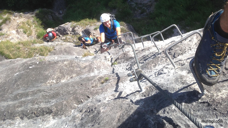 Klettersteig Grünstein : Wanderurlaub im berchtesgadener land der grünstein klettersteig