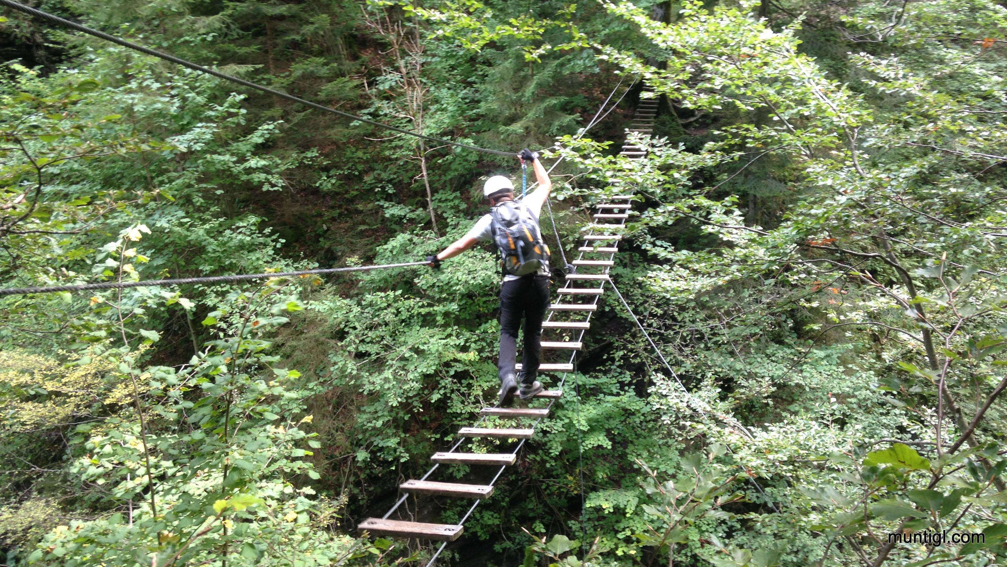 Klettersteig Postalm : Postalm klettersteig d zweitbegehung alpine abenteuer