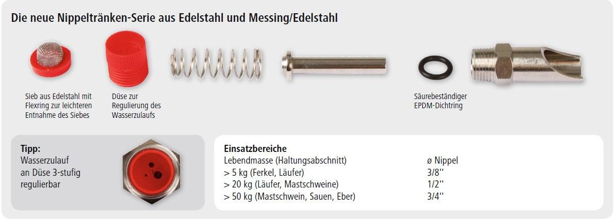 "10 St Beißnippel 79 mm Edelstahl-Nippel 1//2/"" 222551"