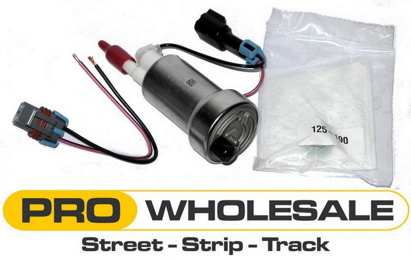 *WALBRO* 255LPH GSS342 FUEL PUMP W// 1 STRAINER For MITSUBISHI INCL BASE