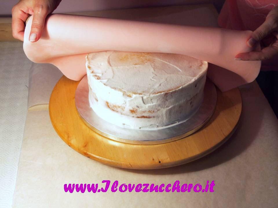 Torta Con Pasta Di Zucchero Come Si Fa Ilovezucchero Sito