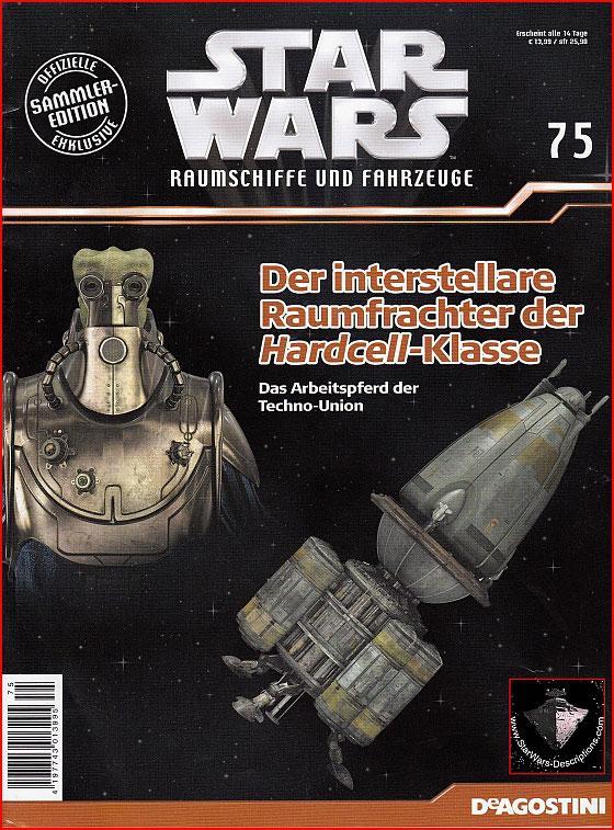 Sammler Edition Deagostini Ausgabe 77 Star Wars Raumschiffe