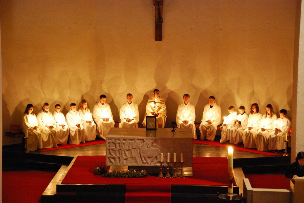 Das Kirchenjahr Pfarrealtenstadts Webseite