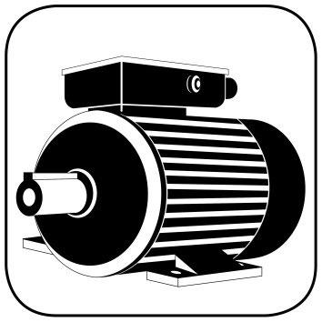 Elektromotor zwei Drehzahlen quadratisch - Elektromotor von AQ Pluss ...