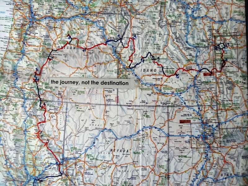 Yellowstone National Park - Wo kamen wir denn dahin? Notizen und ...