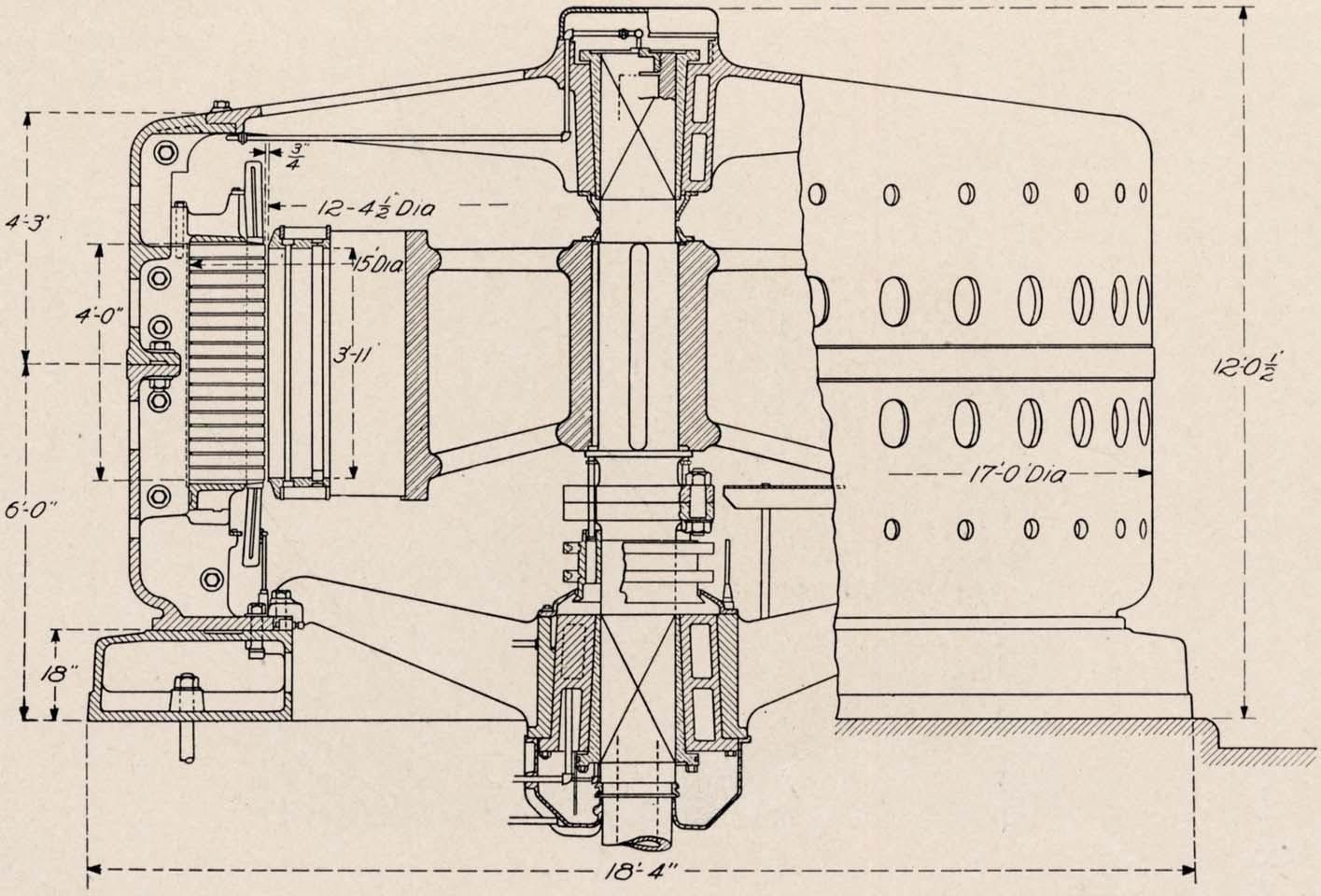 Niagara Falls Power Project 1888 Open Tesla Research 120 Force Engine Diagram