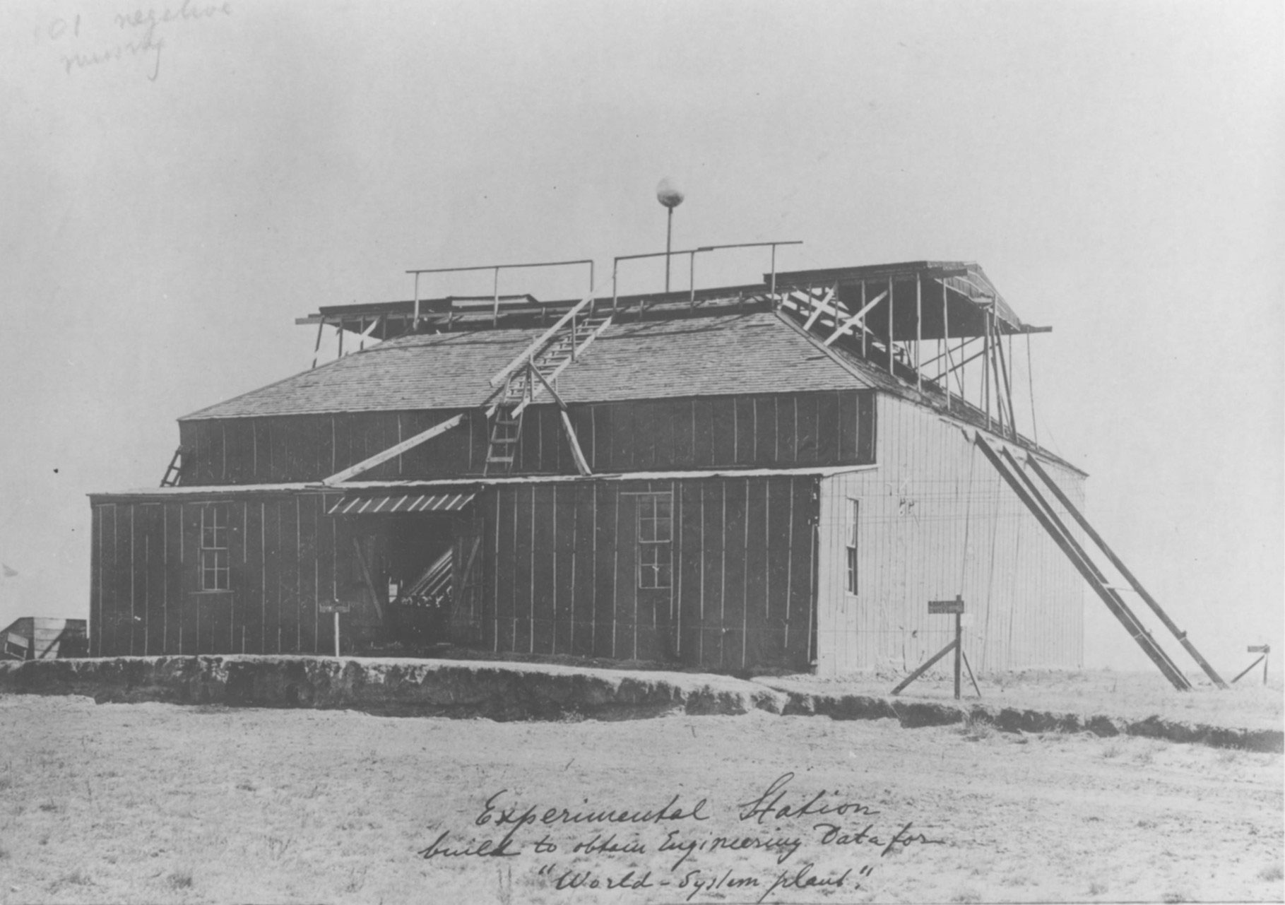 Colorado Springs Laboratory 1899 1900 Open Tesla Research Teslawirelesspowercircuitjpg At His Lab Proved That The Earth Was A Conductor And He Produced Artificial Lightning With Discharges Consisting Of Millions Volts
