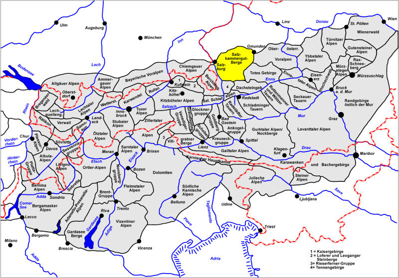 Salzkammergut Karte.Salzkammergut Berge Wizi S Bergwelt Das Tourenportal